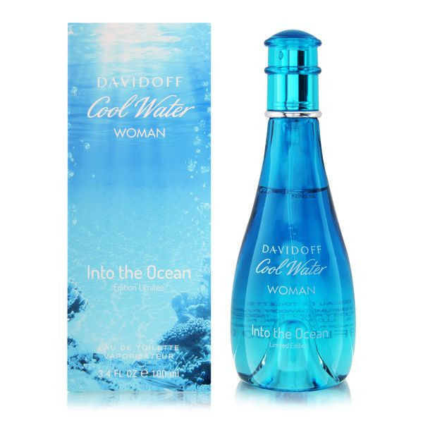 Davidoff Cool Water Into The Ocean EDT 100ml For Women