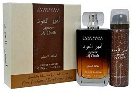 Lattafa Ameer Al Oudh 100ml (Free Deo) for Men & Women
