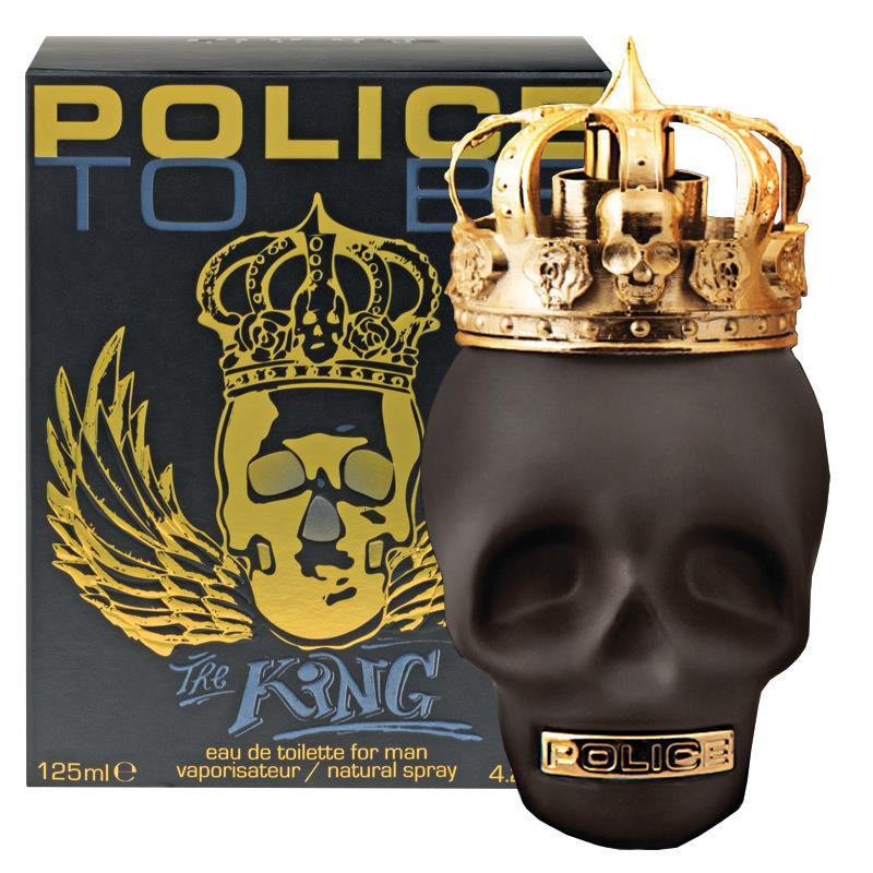 Police To Be The King 125ml EDT for Men