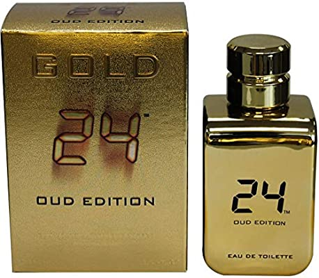 24 Gold Oud Edition EDT 100ml for Men and Women by Scent Story