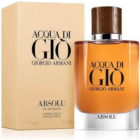 Giorgio Armani Acqua Di Gio Absolu EDP 75ml For Men