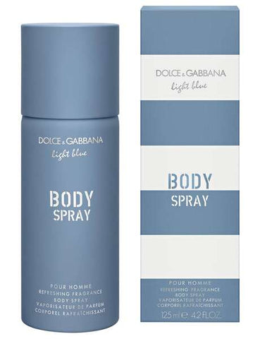 Dolce & Gabbana Light Blue Pour Homme Body Spray Deodorant 125ml for Men
