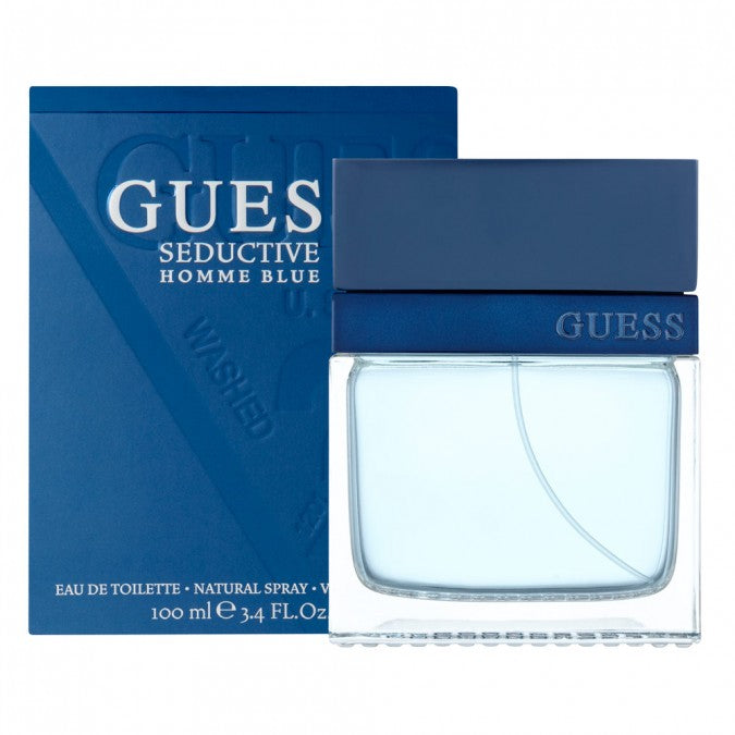 Buy Guess Seductive Homme Blue EDT 100ml for Men Online in India at ... 4f8b85496e7