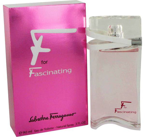 Salvatore Ferragamo F For Fascinating EDT 90ml for Women