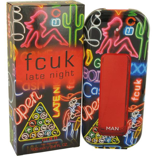 FCUK Late Night EDT 100ml For Men