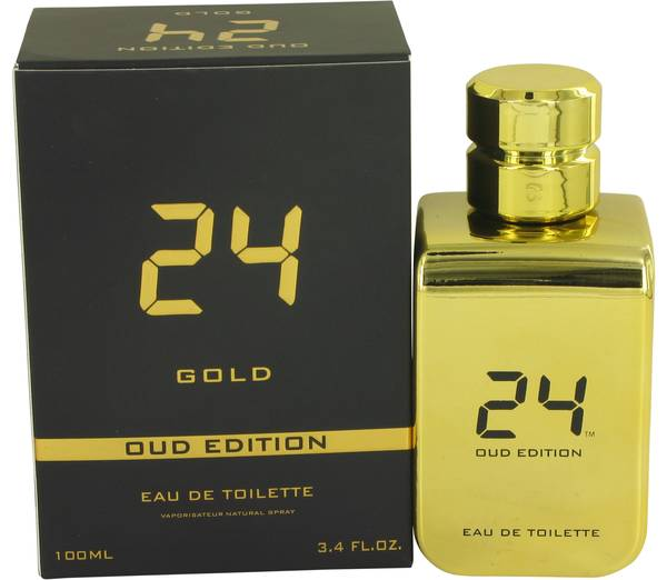 24 Gold Oud Edition EDT 100ml for Men and Women
