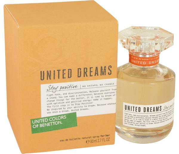 United Colors of Benetton United Dreams Stay Positive EDT 80ml for Women