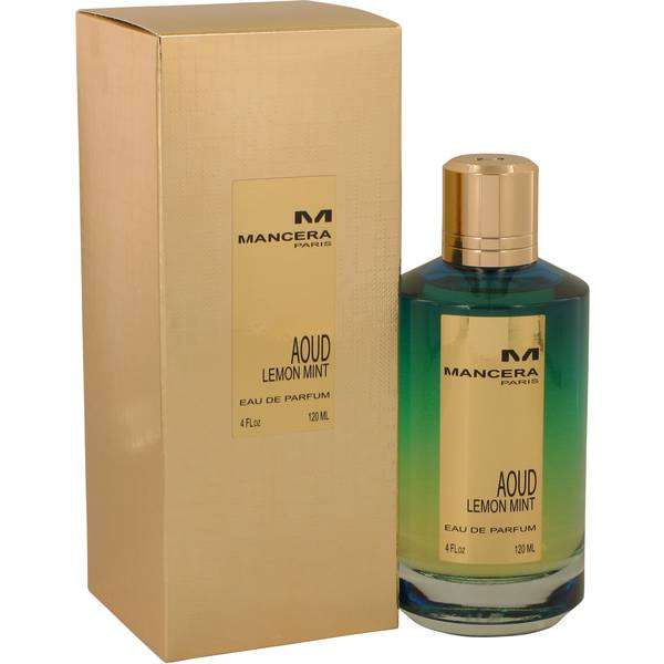 Mancera Aoud Lemon Mint 120ml Eau De Parfum for Men& Women