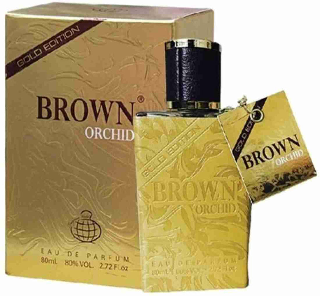 Fragrance World Brown Orchid Gold Edition 80ml EDP for Men