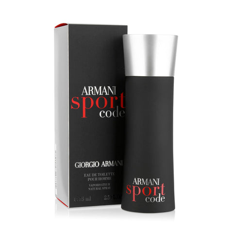 Giorgio Armani Code Sport EDT 75ml for Men