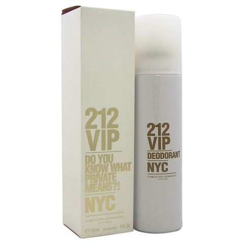 Carolina Herrera 212 VIP Women Deodorant 150ml
