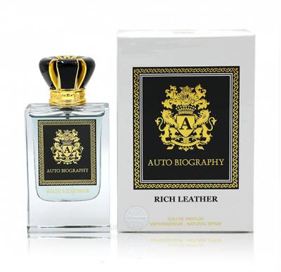Paris Corner Autobiography Rich Leather EDP 50ml for Men