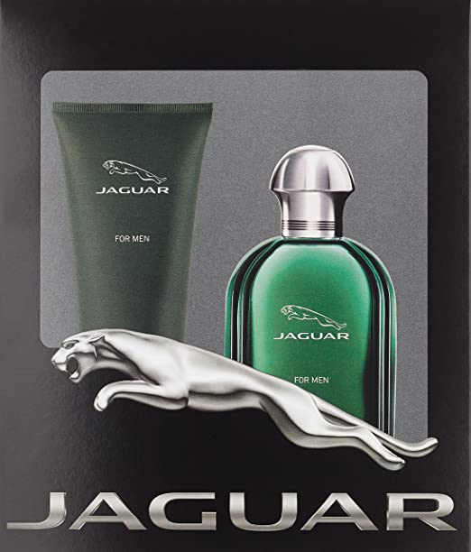 Jaguar green 100ml EDT and 200ml Shower Gel Giftset for Men