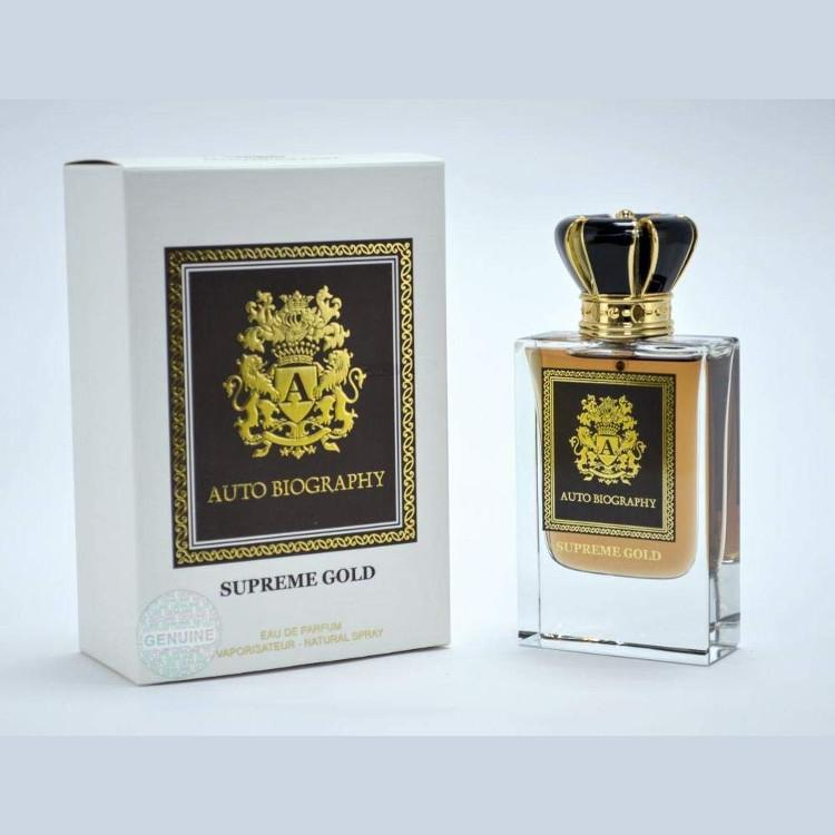 Paris Corner Autobiography Supreme Gold EDP 50ml for Men