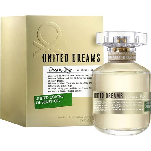 United Colors of Benetton United Dreams Dream Big EDT 80ml for Women