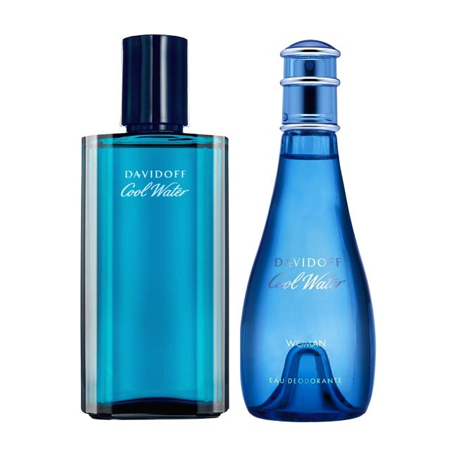 Davidoff Cool Water Deodorant Combo for Men & Women