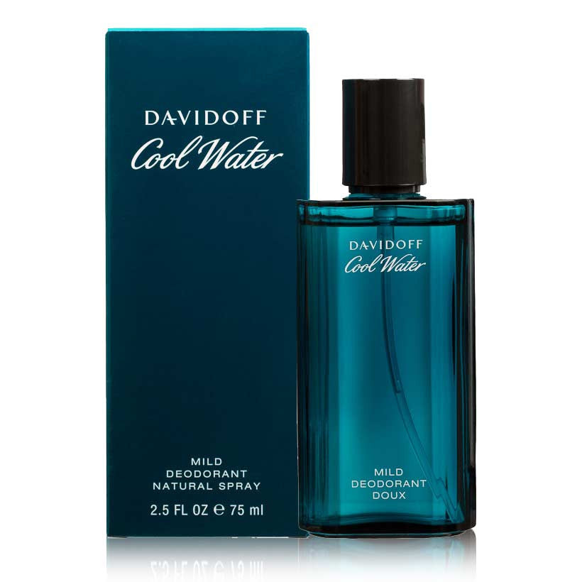 Davidoff Cool Water Deo Spray 75 ml For Men