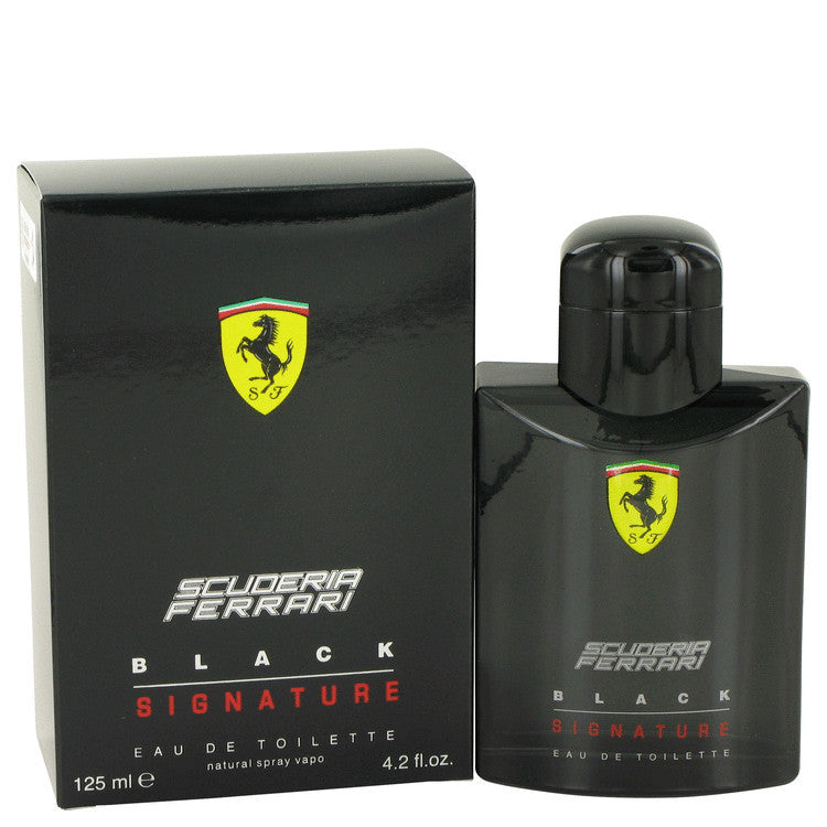 Ferrari Scuderia Black Signature EDT 125ml for Men