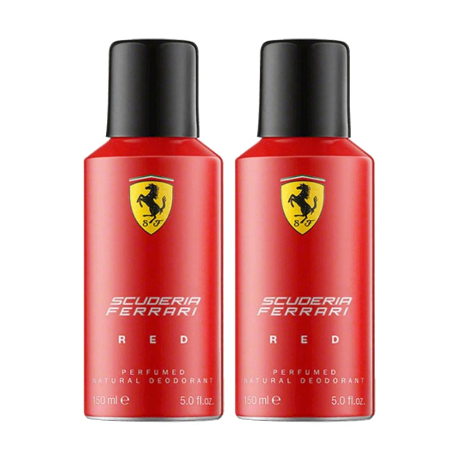Ferrari Red Deo Spray 150ml For Men (Pack of 2 )