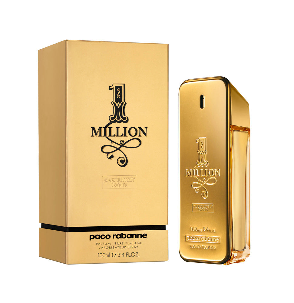 Paco Rabanne 1 Million Absolutely Gold Parfum 100ml for Men