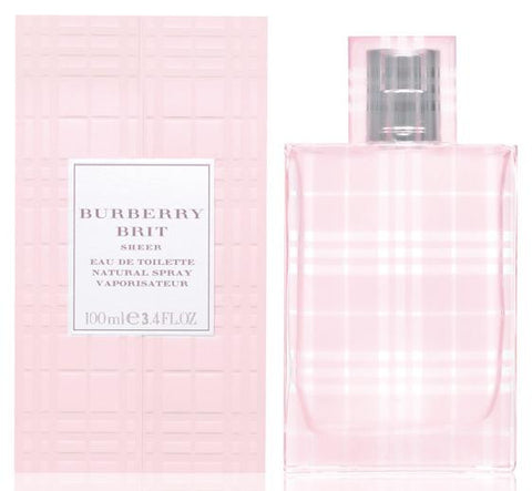 Burberry Brit Sheer EDT 100ml For Women