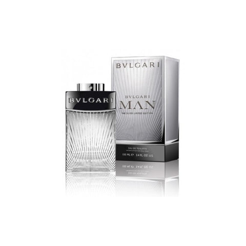 Bvlgari Man The Silver Edition EDT 100ml for Men