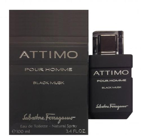Salvatore Ferragamo Attimo Black Musk Pour Homme EDT 100ml for Men