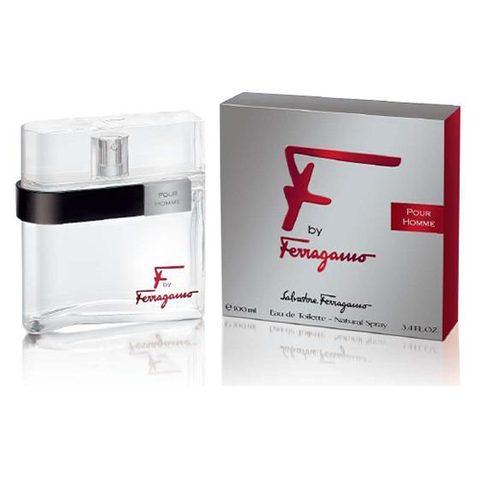Salvatore Ferragamo F By Ferragamo Pour Homme Silver EDT 100ml for Men
