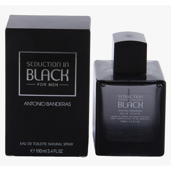 Antonio Banderas Seduction in Black EDT 100ml For Men