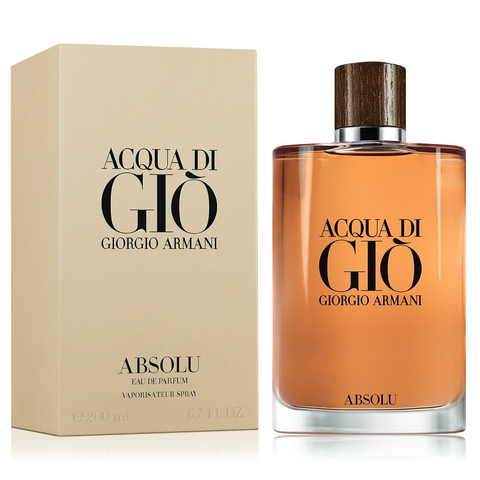 Acqua Di Gio Absolu 200ml EDP for Men by Giorgio Armani
