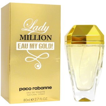 Paco Rabanne Lady Million Eau My Gold 80ml EDT for Women