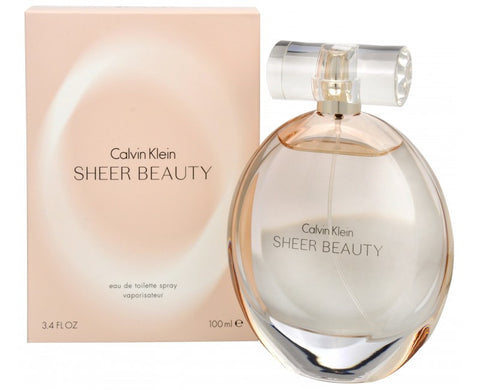 Calvin Klein Sheer Beauty EDT 100ml for Women