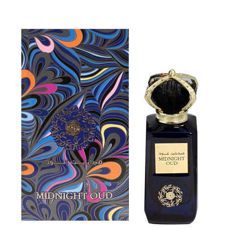 Ard Al Zaafaran Midnight Oud EDP 100ml for Men and Women
