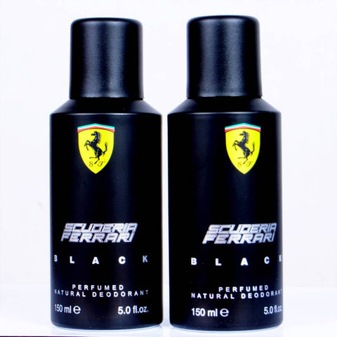 Ferrari Black Deo Spray 150ml For Men ( Pack of 2 )