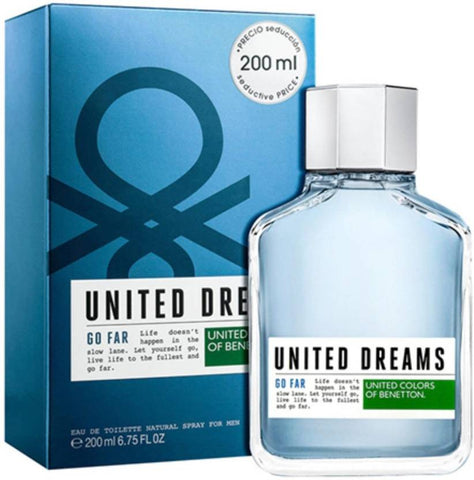 United Dreams Aim High 200ml EDT for Men by United Colors of Benetton
