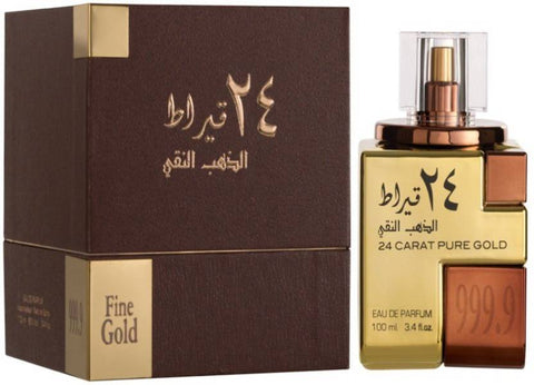 Lattafa 24 Carat Pure Gold EDP 100ml for Men and Women
