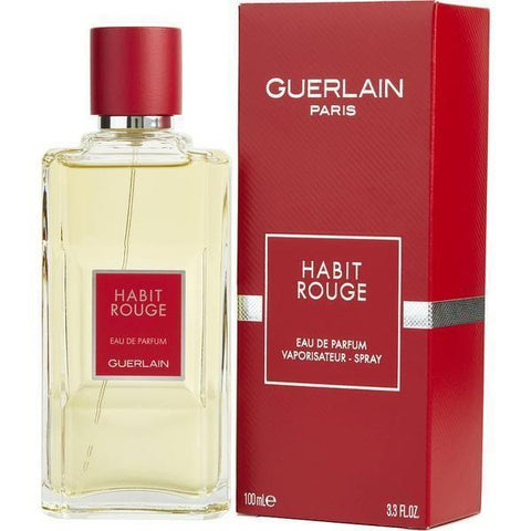 Guerlain Habit Rouge 100ml  EDP for Men