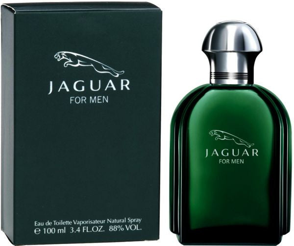 Jaguar for Men EDT 100ml Green Bottle