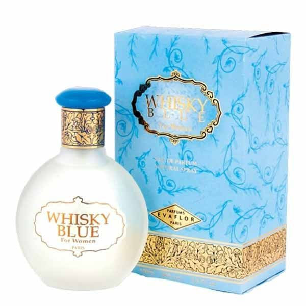 Evaflor Whisky Blue EDP 100ml For Women