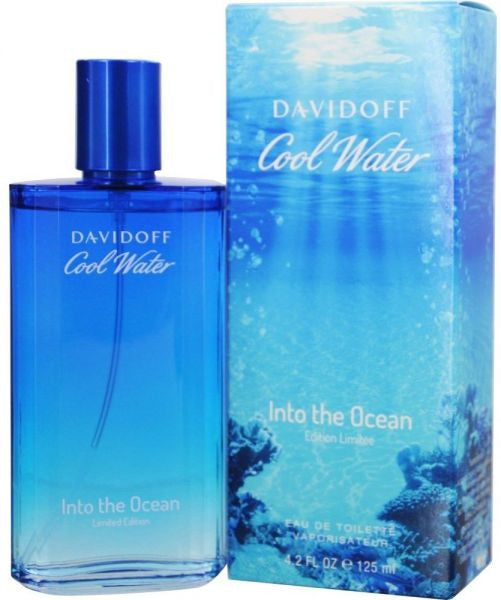 Davidoff Cool Water Into The Ocean EDT 125ml For Men
