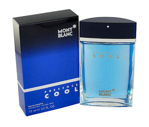 Mont Blanc Presence Cool EDT 75ml for Men