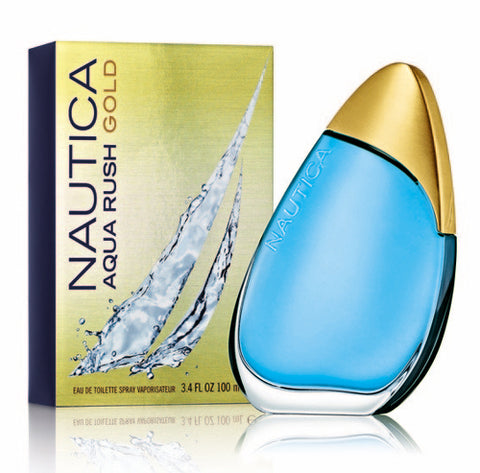 Nautica Aqua Rush Gold EDT 100ml for Men