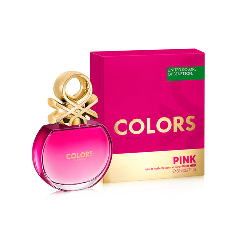 United Colors de Benetton Pink EDT 80ml for Women
