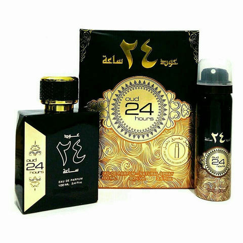 Ard Al Zaafaran Oud 24 Hours EDP 100ml for Men and Women