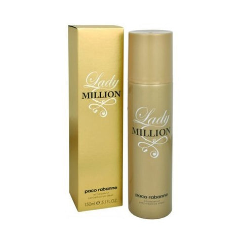 Paco Rabanne Lady Million 150ml Deodorant for Women