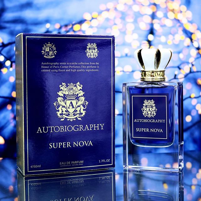 Paris Corner Autobiography Super Nova EDP 50ml for Men