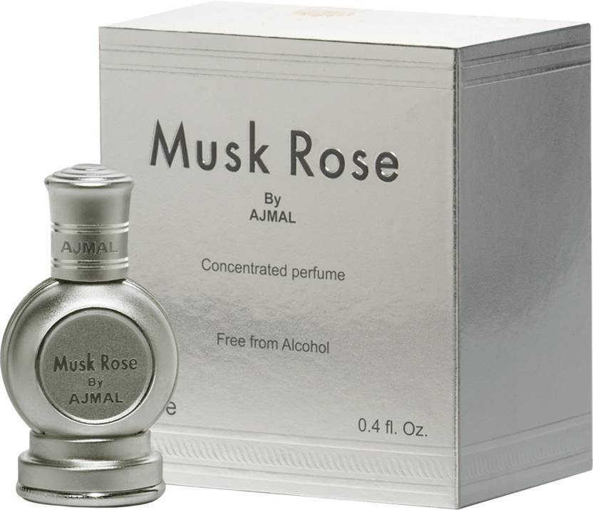Ajmal Musk Rose Attar 12ml Free from Alcohol