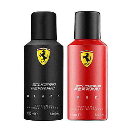 Ferrari Deodorant Combo (Pack of 2) 150ml for Men
