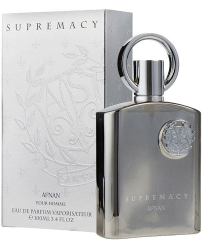 Afnan Supremacy Silver Edp 100ml for Men