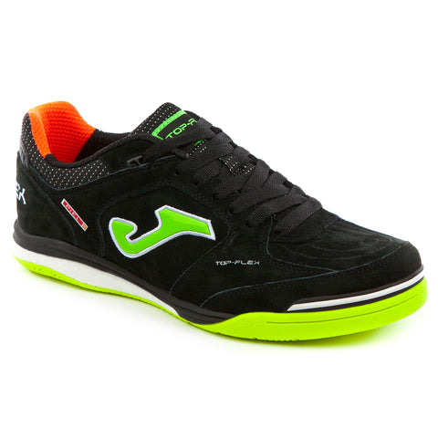 Futsal Shoe - Top Flex Nobuck 801 Black Indoor